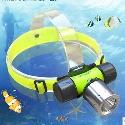 Swimming Waterproof Diving CREE T6 LED 18650 1800Lm Headlamp Head Light Torch