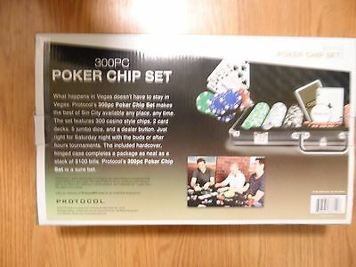 Casino poker chip set 300pc