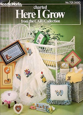 CHARTED HERE I GROW FROM THE CARI COLLECTION CROSS STITCH PATTERN