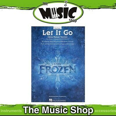 New Disney Frozen's 'Let It Go' Sheet Music for Easy Piano