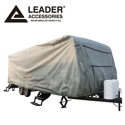 Leader Accessories Travel Trailer RV Cover Fits 16'-18' Camper Waterproof