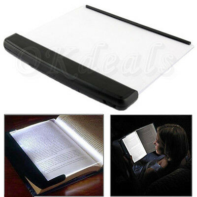 New Portable LED Read Panel Light Book Reading Lamp Night Vision For Travel