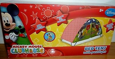 (NEW) Disney Mickey Mouse & Friends Donald Bed Tent with Push Light