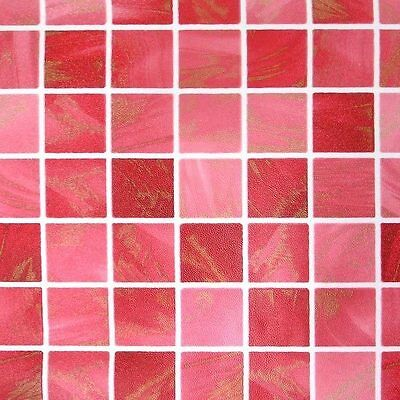 Mosaic Tile Effect Self Adhesive Wallpaper Roll Vinyl Peel Stick Wall Covering