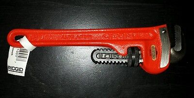 Ridgid 8-Inch Iron Pipe Wrench 1-Inch Pipe Capacity