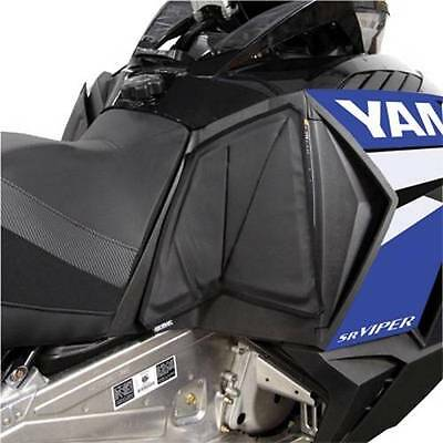 Skinz Console Knee Pads for Yamaha 2014 14 Viper (ACKP400-BK)