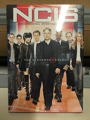 NCIS: The Eleventh Season 11 (DVD, 2014, 6-Disc Set) SEALED FREE SHIPPING!