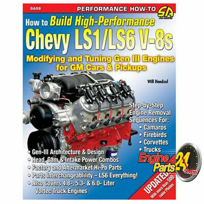 HOLDEN LS1 GEN 3 5.7 LITRE BOOK HOW TO BUILD HIGH PERFORMANCE LS1/LS6 V8's SA86