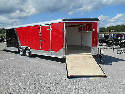 New 27' Enclosed Car ATV Snowmobile Trailer * ON SALE NOW * DR TRAILER *SAVE $$$