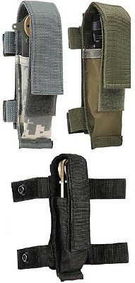 "Military Tactical 7"" BELT or  MOLLE Knife Sheath Pouch 40066"
