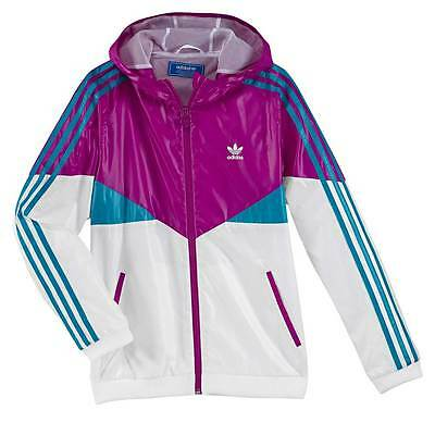 Adidas Originals Girls Colorado Jacket 4/5 5/6 7/8 9/10 11/12 13/14 Years £45