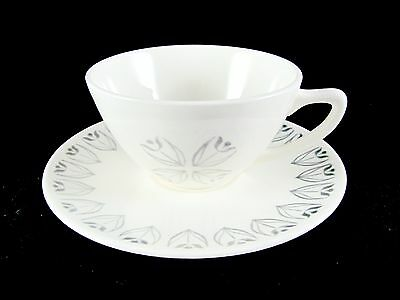 Knowles Tulip Time Cups and Saucers, 11 pc