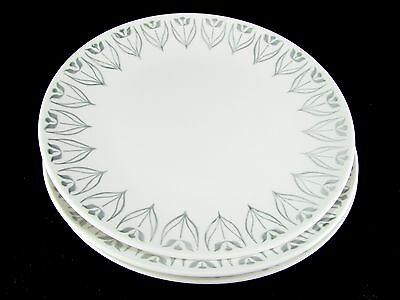 """3 Knowles Tulip Time Dinner Plates, 10-1/4"""""""