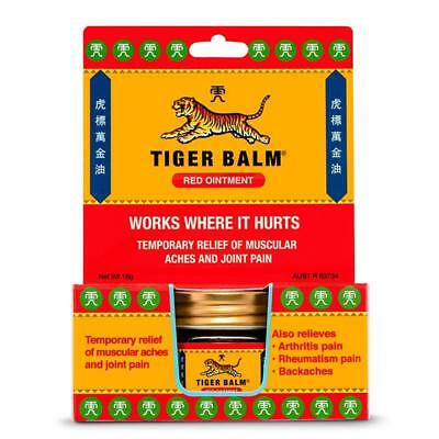 Tiger Balm Exstrength Red Ointment 18G