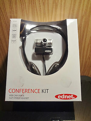 Ednet ED-87223 Conference Kit 300 USB Webcam