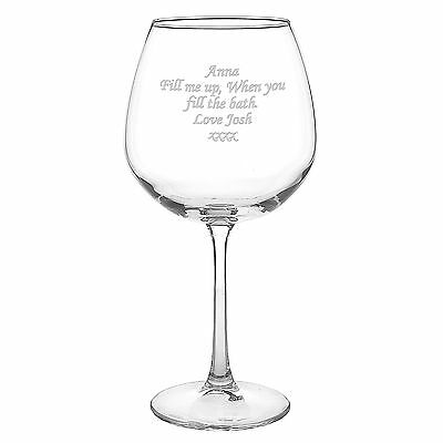 Personalised Bottle of Wine Glass Celebration Birthday Wedding Alcohol