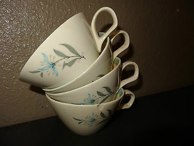 VTG Tea Cup 1950s Table Decor  Cunningham Pickett AVALON Chipped Dishes cup