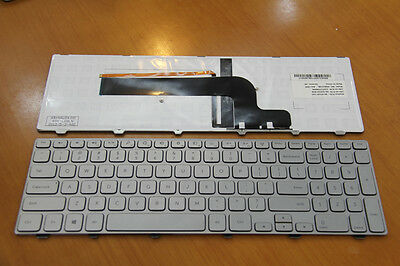 NEW Dell Inspiron 15-7000 15-7537 Silver keyboard US backlit lighted