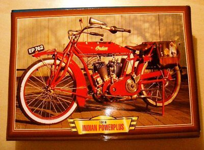 INDIAN POWERPLUS VINTAGE 1000 V TWIN CLASSIC 1916 BIKE PICTURE PRINT 1910'S