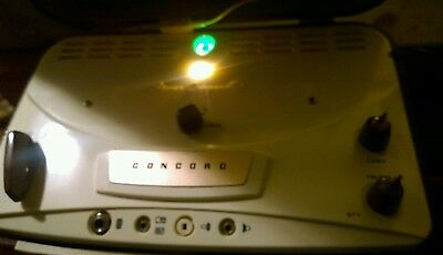 rare Vintage CONCORD (Sony) 107 s/a STEREO COMPANION .TUBES.for reel to reel