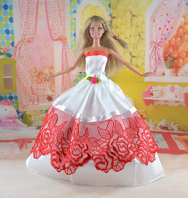 New Handmade Party Clothes Fashion Dress for Noble Doll  #y67