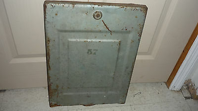 Original Mills FOK Slot Machine Back Door. Slight taller than reg. door..Rare