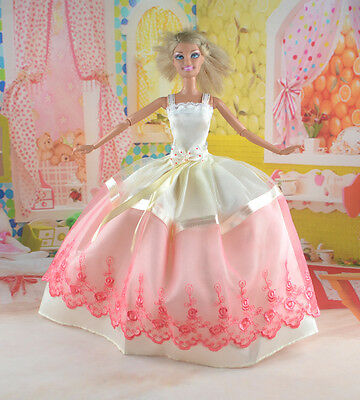 New Handmade Party Clothes Fashion Dress for Noble Doll  #y71