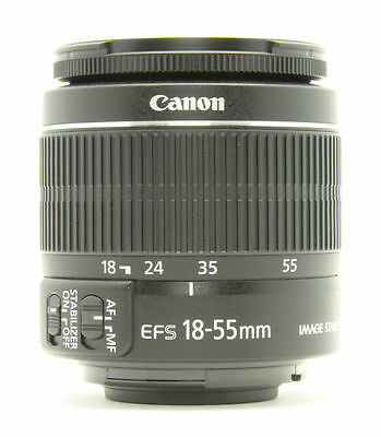NEW!  Canon EF-S 18-55 mm F/3.5-5.6 II IS Lens with brand new 58mm UV filter