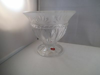 Lovely Cris D'Arques Carthage Lead Crystal Candy Dish Bowl No Lid Compote