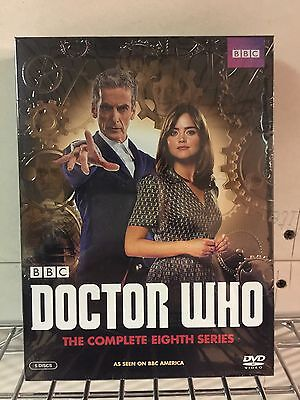 Doctor Who: The Complete Eighth Series Season 8 (DVD, 2014, 5-Disc Set)