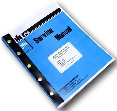 International D Dt-466 Diesel Engine Service Repair Shop Manual Turbo Fuel Pump