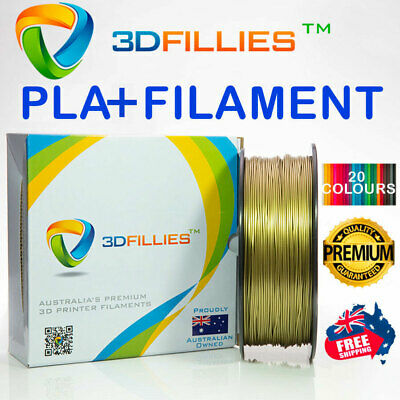 3D Printer Filament PLA+ 1.75mm 1kg 20 Colours Aussie Stock Fast Shipping
