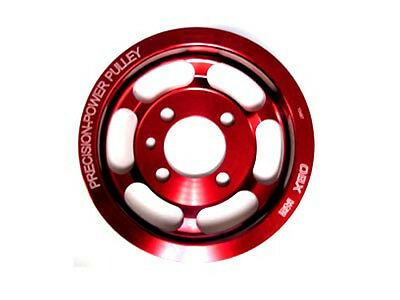 OBX Crank Pulley 90 91 92 93 94 95 96 97 98 99 Eagle Talon 4G63T Red