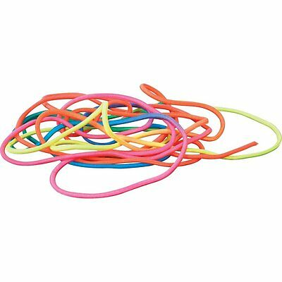 Girl Children French Skipping Skip Jump Rope Elastic Toy Brightly-coloured