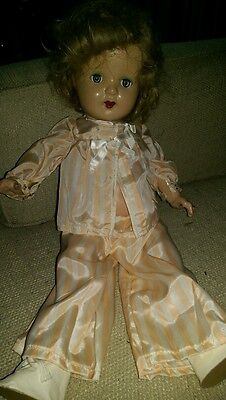 LOOK Vintage Shirley Temple Style Doll