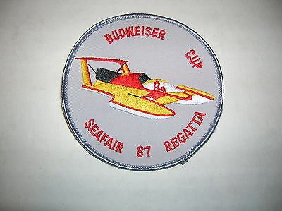 1987 SEATTLE SEAFAIR BUDWEISER CUP REGATTA  PATCH HYDROPLANE HYDRO PATCH