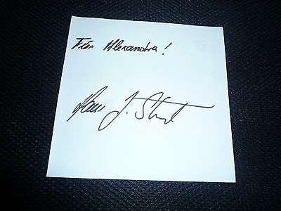 HANS JOACHIM STUCK  signed Autogramm In Person Albumseite