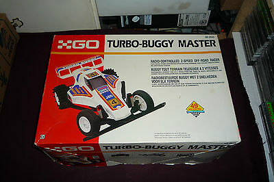 Vintage Radio Shack Turbo Buggy Radio Control 2-Speed Off Road Racer 49MHz AS IS