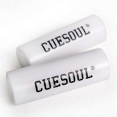 CUESOUL 2 PCS 66mm Length Cue Tip Quick Shaper Tools For Pool Cue Tip