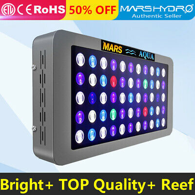 165W LED Aquarium Light Full Spectrum Dimmable Coral Reef SPS LPS Marine Tank