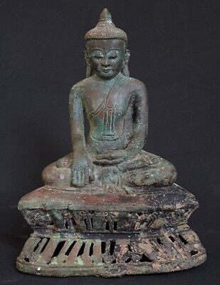 Antique Bronze Buddha Statue for sale | Antique Buddha Statue from Burma