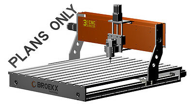 3 Axis CNC Router Table Milling, Drilling and Engraver machine diy plans