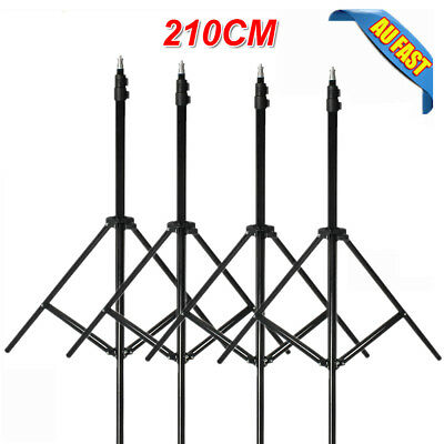 210CM Light Stands Photo Studio Video Lighting Support For Softbox Umbrella AU