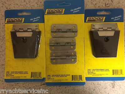 Igloo Cooler Stainless Hinges And Latch 76891 X3 76881 X2 50Qt To 165Qt Parts