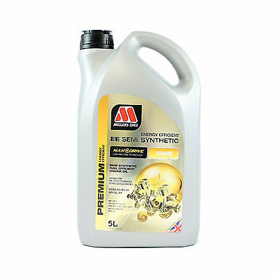 Millers Oils NANODRIVE EE 10w-40 Semi Synthetic Engine Oil - 5 Litres