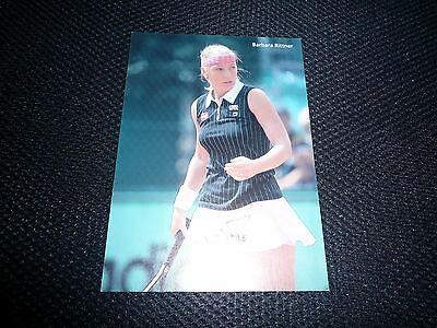 BARBARA RITTNER signed Autogramm In Person 10x15 cm TENNIS
