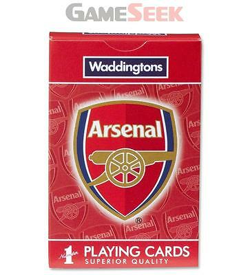 Arsenal Fc Playing Cards - Toys Brand New Free Delivery