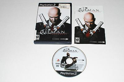 Hitman: Contracts PS2 COMPLETE w/ Manual Playstation 2 Game