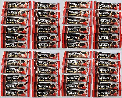 Single Serve NESCAFE BLEND 43 COFFEE SACHET STICK ~ 48 x 1.7gr Portion