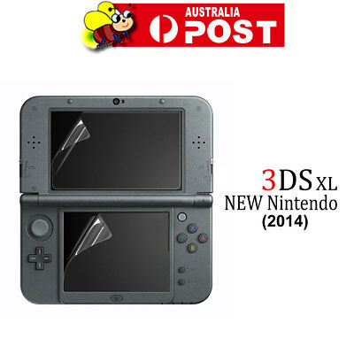 2in1 Set Top & Bottom LCD Screen Protector Cover Film For New Nintendo 3DS XL/LL